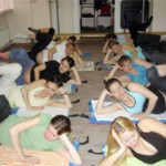 Занятия ЛФК и дыхательной гимнастики